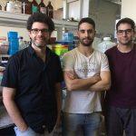 Los autores del avance científico, Lionel Muller Igaz (izq.), Julio Alfieri, Pablo Silva, investigadores del CONICET y de la UBA.