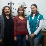 Algunas de las autoras principales del avance científico, las doctoras María Inés Isla (izq.) y María Rosa Alberto, y la becaria doctoral Romina Torres Carro, investigadoras del CONICET y de la Universidad Nacional de Tucumán.