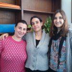 Parte del equipo de investigación: Natalia Gorino, Ana Julieta González y María Susana Fortunato