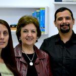 Algunos autores del estudio, Susana Salva, Susana Alvarez y Julio Villena, del CERELA.