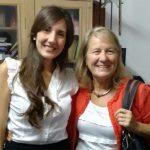 Las doctoras Mariana Pérez Ibarreche (izq.) y Graciela Vignolo, del Centro de Referencia para Lactobacilos, que depende del CONICET.