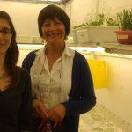 La doctora Laura de la Canal (der.), directora del estudio, y Guadalupe Martínez, primera autora del trabajo, ambas investigadoras del Instituto de Investigaciones Biológicas (Universidad Nacional de Mar del Plata-CONICET).
