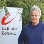 El doctor Edvard Moser, Premio Nobel de Medicina en 2014, en el Instituto Balseiro, Bariloche.  Créditos: Área de Comunicación Institucional del Instituto Balseiro (CNEA-UNCuyo).