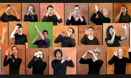 """¿Cómo se dice """"Big Bang"""", """"eclipse lunar"""" o """"galaxia"""" en lenguaje de signos? Científicos argentinos participan de la confección de una lista internacional."""