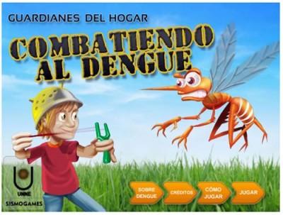 b Guardianes del Hogar Combatiendo al Dengue
