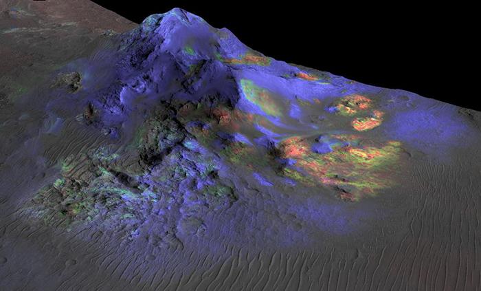 """El """"truco"""" bonaerense para buscar vida en Marte"""