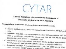 Proponen profundizar los logros de la ciencia argentina