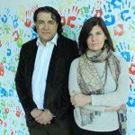 La directora del programa que busca innovar en el diagnóstico y tratamiento de la enfermedad de Alzheimer, la doctora Laura Morelli, del Instituto Leloir, y el doctor Luis Brusco, director del Centro de Neuropsiquiatría y Neurología Cognitiva de la UBA y presidente de Alzheimer Argentina.