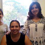 Las doctoras Carolina Torres (izq.), Lucila Saavedra y María Pía Taranto, del Centro de Referencia para Lactobacilos, organismo que depende del CONICET y se encuentra en San Miguel de Tucumán.