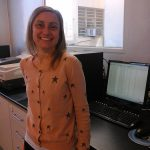 La doctora Guillermina Gentile, investigadora del Departamento de Ingeniería Química del Instituto Tecnológico de Buenos Aires.