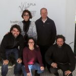 """Los autores del estudio, Nora Gómez, Rocío Pazos Tomás Maiztegui, Darío Colautti y Ariel Paracampo, investigadores del Instituto de Limnología """"Dr. Raúl A. Ringuelet."""