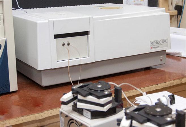 Equipo con el que se podrá medir el selenio en sangre y en alimentos gracias a la técnica de las investigadoras de San Luis.