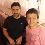Los autores del avance científico, Federico Locatelli (izq.) y Martín Klappenbach, investigadores del Instituto de Fisiología, Biología Molecular y Neurociencias (CONICET- FCEN-UBA.)