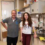 Daniel Mascó y María Gabriela Ortega, integrantes del equipo de investigadores que realizó el estudio.
