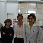 Parte del equipo de investigación: Andrés Ruiz, Mónica Esteva, Karenina Scollo, Rocío Rivero y Margarita Bisio.