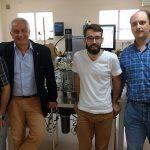 Investigadores del CONICET y de la UNLP que realizaron el estudio: Marco Tizzano (izq.), Marcelo Pecoraro, Leandro Picotto y Hernán Sguazza.