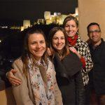 Algunos autores del estudio, Romina Monasterio (izq.), del Instituto de Biología Agrícola de Mendoza, Lucía Olmo-García, Alegría Carrasco Pancorbo y Aadil Bajoub, de la Universidad de Granada.