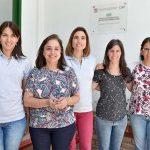 Parte del grupo que participó de la investigación en el Instituto de Patología Vegetal del Centro de Investigaciones Agropecuarias (IPAVE-CIAP- INTA).