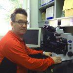 """El doctor Leandro Miranda, del Instituto de Investigaciones Biotecnológicas-Instituto Tecnológico de Chascomús """"Dr. Raúl Alfonsín"""" (IIB-INTECH), que depende de la UNSAM y del CONICET."""