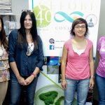 Algunas autoras del estudio,  María Valeria Lara (izq.), María Fabiana Drincovich, Claudia Bustamante y Laura Lucía Monti, del Centro de Estudios Fotosintéticos y Bioquímicos, dependiente del CONICET y de la Universidad Nacional de Rosario.