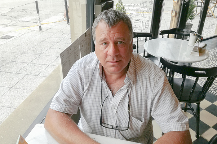 Doctor Gabriel Genzano, investigador del CONICET en la Facultad de Ciencias Exactas y Naturales de la Universidad Nacional de Mar del Plata.