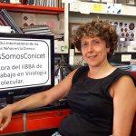 La doctora Andrea Gamarnik, directora del Instituto de Investigaciones Bioquímicas de Buenos Aires, unidad de doble dependencia creada por la Fundación Instituto Leloir y el CONICET.