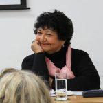 La socióloga e historiadora Dora Barrancos, ex directora del Instituto Interdisciplinario de Estudios de Género de la Facultad de Filosofía y Letras de la UBA