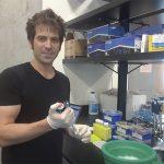 Uno de los autores del estudio, el Dr. Juan Hurtado, del Instituto de Ecología, Genética y Evolución (IEGEBA, UBA-CONICET).