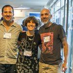 Los organizadores del workshop sobre ARN, los doctores Pablo Manavella (izq.), Graciela L. Boccaccio, Juan Pablo Fededa, Anabella Srebrow y Manuel de la Mata.