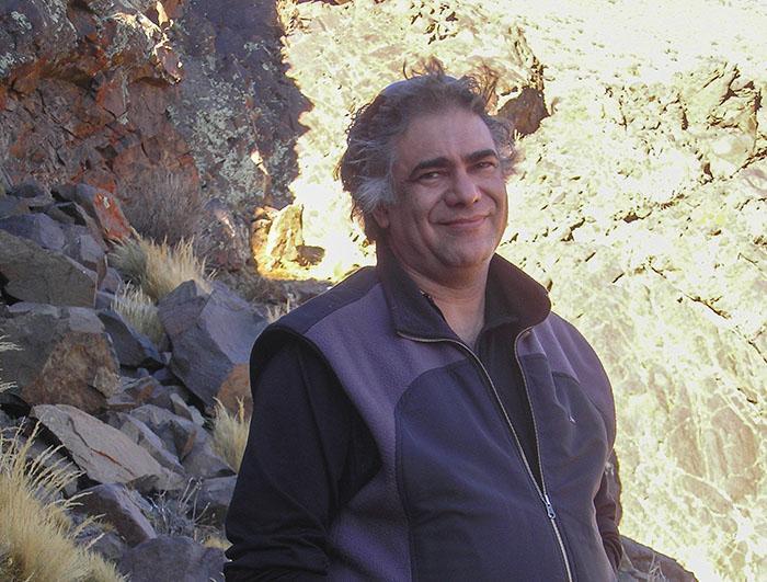 El director del estudio, Dr. Carlos Borghi, del Centro de Investigaciones de la Geósfera y Biósfera, dependiente del CONICET y de la Facultad de Ciencias Exactas, Físicas y Naturales de la Universidad Nacional de San Juan.