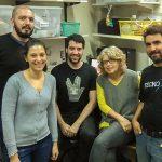 Los doctores Liliana Dain (directora del proyecto), Lucía Espeche, Jorge Kolomenski, Carlos Bruque y Alejandro Nadra.