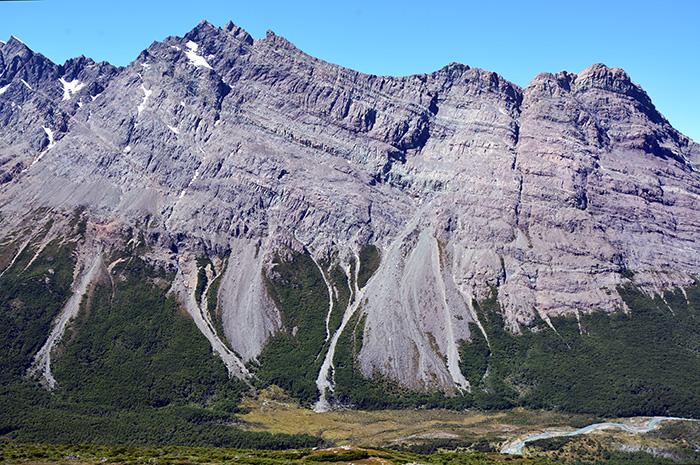 Los sismos moderados desploman grandes rocas a distancia (y los árboles lo registran)