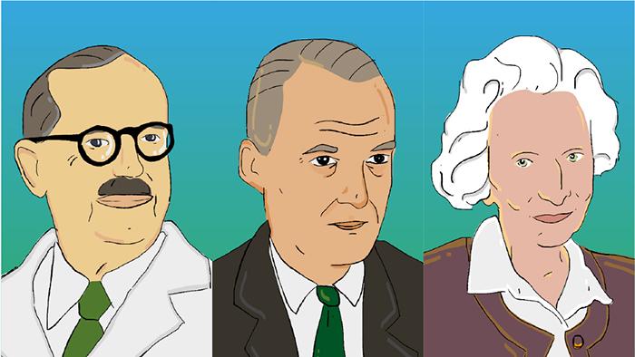 """Se presentó la plataforma """"Notables de la Ciencia"""" que evoca a tres figuras emblemáticas"""