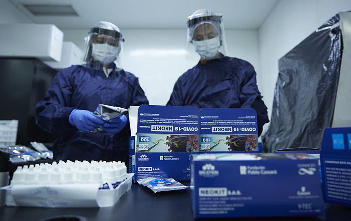 Escalarán la producción de un test de diagnóstico rápido para COVID-19